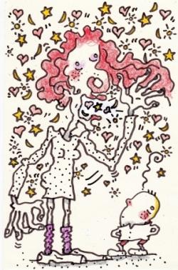 La Rousse Flamboyante !...
