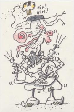 Un fameux souffleur de Veuze !