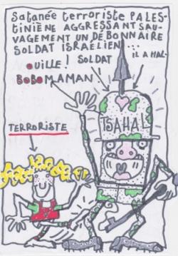 Une sacrée terroriste !