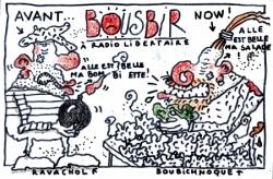 Bousbir à Radio Libertaire