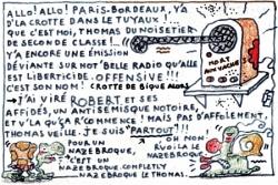 Ousque l'Thomas du Noisetier pépie...