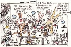 Au Bijou bar...
