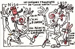 Les Ouvrard et Georgius de radio libertaire.