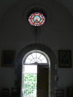 Vitraux de chapelle.