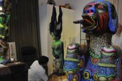 "Exposition ""AMAZONIES"" 9/14 octobre2009"