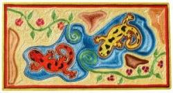 Ballet de salamandres