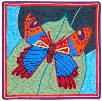 Papillon multicolore