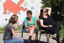 Cindy, Cathie et Katia