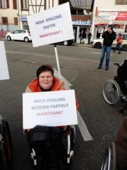 Manif Accessibilité