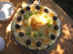 Le beau gâteau de Suzanna!
