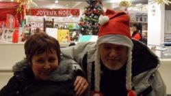 Marie-France et notre Père Noël Alain!