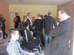 Marc et Martin Hirsch en pleine discussion!