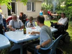 Barbecue à la délégation