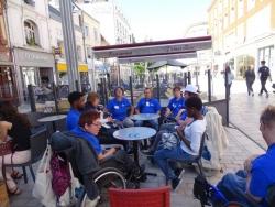 Une pause dans Amiens