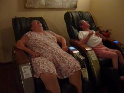 Petit massage à l'hotel