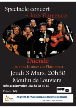 Spectacle Jazz Flamenco à Louviers