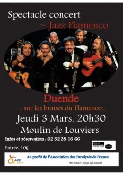 Spectacle Jazz Flamenco à Louviers