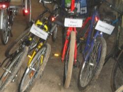 Des vélos !