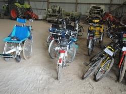 Des vélos en tous genres