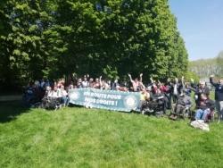 En route pour nos droits - Versailles - Mai 2019