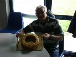 Alain et son premier gâteau !!