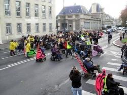 Manifestation de Caen 5 nov 2014