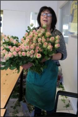 Vente de roses 2016