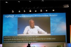 Mr Alain ROCHON Président d'APF France handicap