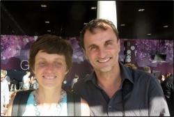 Sophie Massieu journaliste et Jérome Deya photogra