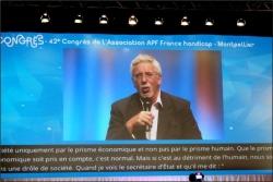 Mr Patrick DOUTRELIGNE, Président de l'UNIOPSS