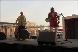 La fête de la musique le 1er soir du congrès