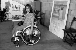 2ème jour Nadine DELORT Elue d'APF France handicap