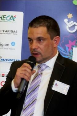 Loic TOMAZET, Président de Handi-Sup Auvergne