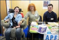 Inès, Liliane et Vincent