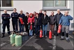 Salariés et bénévoles de l'Allier et du Puy de Dôm