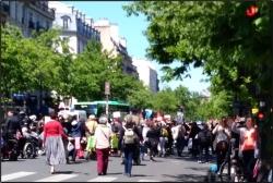 Manifestation place de la République à Paris