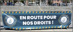 """La caravane """"En route pour nos Droits"""" à Paris le 14/05/2019"""