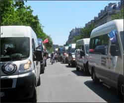 L'arrivée sur Paris