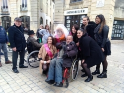 """La caravane """"En route pour nos Droits""""à Dijon 11/05/2019"""