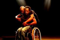 La compagnie Handi danse Cameroun sur scène