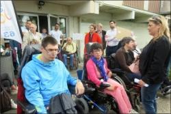 Manifestation vendredi 15 juin de l'APF 63 contre la loi Elan