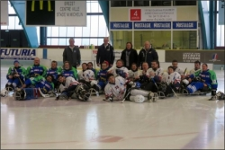 Match de Hockey luge avril 2018 Clermont / Cherbourg