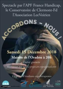 Répétitions au Conservatoire Emmanuel Chabrier