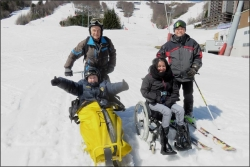 Bob, Joël, Laïla et Sandy
