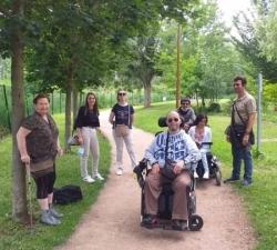 Vendredi 25 juin...balade au parc Du Cerey à Riom...