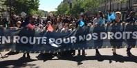 """Caravane """"en route pour nos droits"""" - mai 2019"""