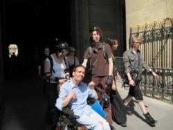 Paris rollers-fauteuil