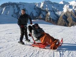 Fauteuil ski articulé