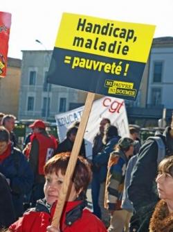 Manifestation 29 janvier 2009 à Carcassonne