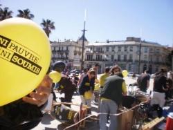 Manifestation Ni Pauvre Ni Soumis à Perpignan